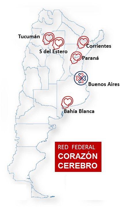 mapa red