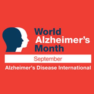 Septiembre es el Mes Mundial del Alzheimer