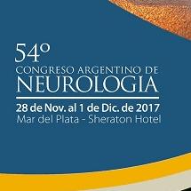 """54º Congreso Argentino de Neurología. """"El impacto cognitivo y anímico de las enfermedades vasculares"""""""