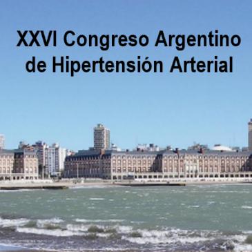 XXVI Congreso Argentino de Hipertensión Arterial