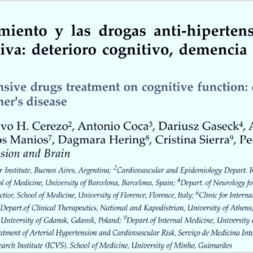 Trabajo conjunto entre el Working Group Hypertension And Brain  de la European Society Of Hypertension y la Red Federal Corazón-Cerebro  de Argentina