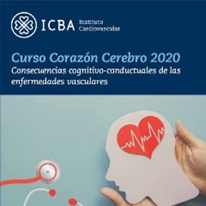 """Curso Corazón-Cerebro 2020.  """"Consecuencias cognitivo conductuales de las enfermedades vasculares""""."""