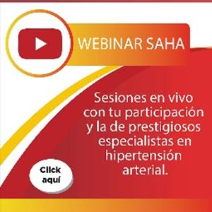 """Webinar de la Sociedad Argentina de Hipertensión Arterial: """"Hipertensión y deterioro cognitivo""""."""