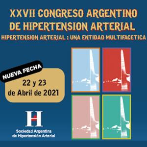 XXVII Congreso Argentino de Hipertensión Arterial.